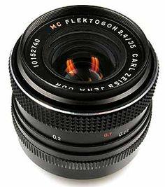 Carl Zeiss Jena Flektogon 35mm f/2.4 MC Lens Review