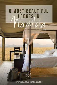 From luxury tented camps to remote desert lodges, we've collected the 6 most beautiful lodges in Namibia we personally like the most. Most Beautiful, Beautiful Places, Luxury Tents, River Lodge, Private Games, Road Trip Essentials, Roadtrip, Travel Guides, Travel List