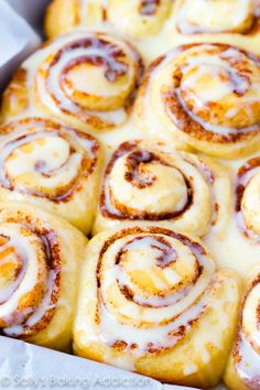 Homemade Orange Sweet Rolls.
