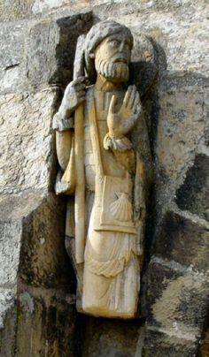 11th Century Statue of James the Apostle, no further info