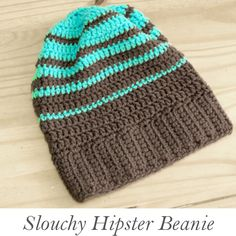 Slouchy Hipster Beanie (pattern courtesy whistleandivy)