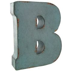 Galvanized Letter B B Large Galvanized Metal Letter B&c Our Bedroom Or Living Room