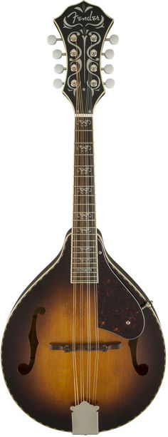"""Familiar vintage """"A-style"""" aesthetics, authentic Fender sound and upgraded features unite to make the Concert Tone A53S a mandolin you won't want to put down. Redesigned from the ground up for rich, c"""