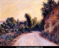 Learn more about Path Claude Oscar Monet - oil artwork, painted by one of the most celebrated masters in the history of art. Claude Monet, Pierre Auguste Renoir, Monet Paintings, Landscape Paintings, Landscapes, Edgar Degas, Garden Painting, Post Impressionism, Impressionist Paintings