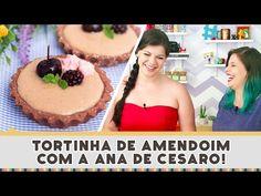 Tortinha de Amendoim com a Ana de Cesaro - Receitas de Minuto #246 - YouTube