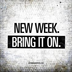 """New week. Bring it on. """" class=""""wp-smiley"""" style=""""height: 1em; max-height: 1em;"""" /> Smash that like button if youre looking forward to all the #workouts and #gains this week! """" class=""""wp-smiley"""" style=""""height: 1em; max-height: 1em;"""" /> I cant wait to get busy in the gym"""