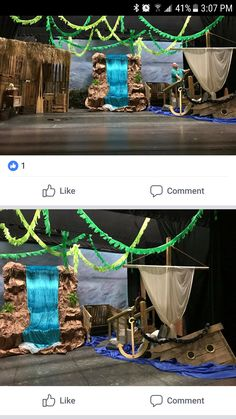 Vbs Themes, Beach Themes, Crocodile Craft, Cave Quest Vbs, Pirate Party Decorations, Vbs 2016, Under The Sea Theme, Church Events, Theme Halloween