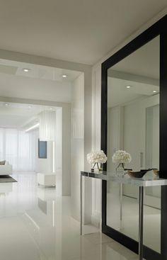 Hall espelho aparador