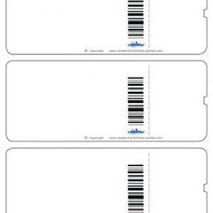 Use This Template To Make Fake Airplane Tickets To Play Vacation - Plane ticket wedding invitation template free