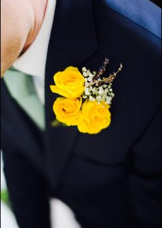 Beautiful navy, mint green and yellow combo for recent wedding www.alexandrawoodbespoke.co.uk