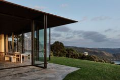 Cowes Bay Residence, Waiheke Island, New Zealand - The Cool Hunter - The Cool Hunter New Zealand Architecture, Interior Architecture, Residential Architecture, Waiheke Island, Hiking Spots, Stone Houses, The Locals, House Design, House Styles
