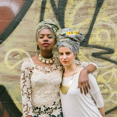 How To Wear A Headwrap With Strength. Because a strong woman deserves a strong look.