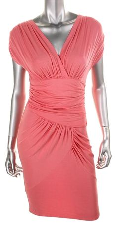 Catherine Malandrino Pink Sa2545 Dress. Free shipping and guaranteed authenticity on Catherine Malandrino Pink Sa2545 Dress at Tradesy. CATHERINE MALANDRINO 8236 NEW Womens Pink Jersey K...