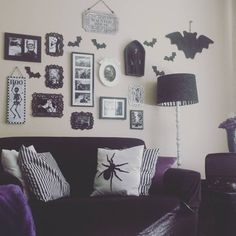 48 Wonderful Diy Halloween Living Room Decoration Ideas Find a spot t.