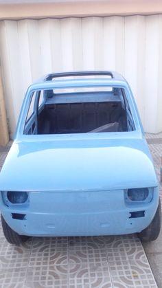 I'LL BE BACK! FIAT 126 FRESH PAINT Fiat 126, Car Polish, Steyr, Electric Cars, Italian Style, Cool Cars, Panda, Classic Cars, Automobile