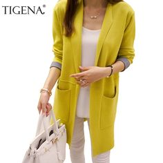VEMOW Ladies Cardigans Winter Jackets Women Long Sleeve Plain Loose Fashion Sequin Clubwear Party Coat Cardigan