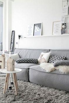 22 Cozy Interior Designs with Shag Carpet Interiordesignshome.com Room that prove you need a shag rug