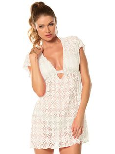 4172bbbef9 Ritual Crochet Tunic – Blum's Swimwear & Intimate Apparel Becca  Swimwear, Beach Cover Ups