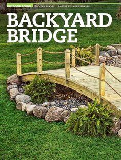 Merveilleux #2108 Backyard Bridge Plans   Outdoor Plans