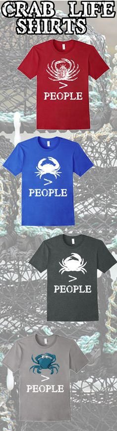 #crablife #deadliestcatch #crab #crabbers Would you rather be out on the crab boat rather than in town back on land? Yeah people can really suck. You live the crab life now wear the shirt. On amazon prime now.