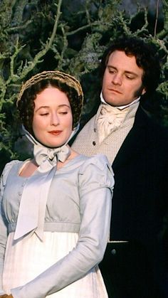 Colin Firth & Jennifer Ehle in Pride and Prejudice