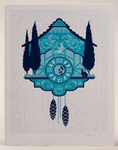 Cuckoo Clock print by SIBLING