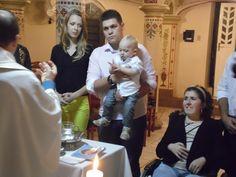 Batizado do meu afilhado no mesmo dia do aniversário dele!