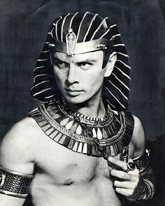 Yul Brynner as Ramses, from The Ten Commandments (1956)