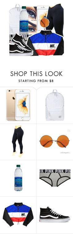 """""""Untitled #1192"""" by baby-trilldolls ❤ liked on Polyvore featuring Herschel Supply Co. and Vans"""