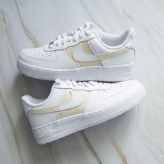 Beige Nike Shoes, Air Force 1, Nike Air Force, All Sale, Sneakers Nike, Brand New, Paint, Amp, Water