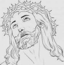 Resultado De Imagen Para Rosto De Jesus Desenho Dibujos De Jesus Rostro De Jesus Dibujos