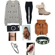 Panda, created by harrylover36 on Polyvore