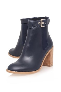**High Heeled Leather Ankle Boots by Kurt Geiger - Boots - Shoes - Topshop