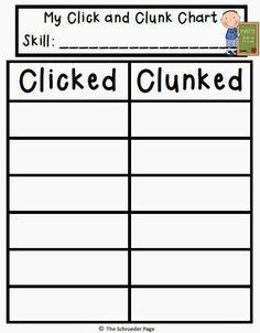 Classroom Freebies: Math Clicked or Clunked FREEBIE!