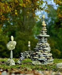 leave a gentle mark ☮  http://adventure.howstuffworks.com/destinations/trail-guides/understanding-hiking-trail-markers1.htm