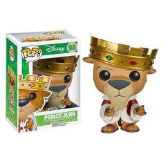 Robin Hood Prince John Pop! Vinyl Figure - Funko - Robin Hood - Pop! Vinyl Figures at Entertainment Earth