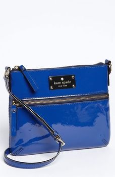 kate spade new york 'flicker - tenley' patent crossbody bag in December 2012 Gifts With Gusto from Nordstrom on shop.CatalogSpree.com, my personal digital mall.