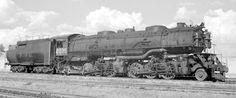 Articulated with Vanderbilt oil tender . National Railways, Railroad Photography, Train Times, Steam Engine, Steam Locomotive, Vietnam War, Logos, Tattoos, Train