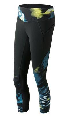 b0c16c5d9a7f9 $27.99 - New Balance Women's Premium Performance Fashion Crop Capri Pants  Urban Floral Print #newbalance