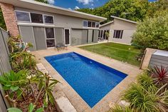 Pools by Freedom Pools - Australia's most awarded pool manufacturer. Cool Swimming Pools, Best Swimming, Swimming Pool Designs, Pool Images, Pool Installation, Fiberglass Pools, Backyard Pool Designs, Small Pools, Pool Houses
