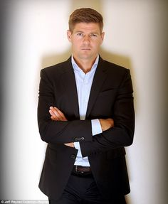 Starting on Saturday, Steven Gerrard's explosive book is being serialised by Sportsmail Steven Gerrard Liverpool, Liverpool Captain, Liverpool Legends, Liverpool Players, Liverpool Fans, Liverpool Football Club, Rangers Football, Rangers Fc, Stevie G
