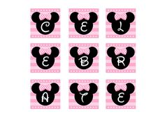 free minnie mouse printable banner