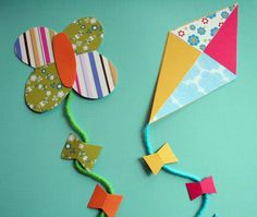 kite craft | crafts for kids and their parents kite_craft » MollyMoo - crafts ...