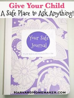 Give your preteen a safe journal - a safe place to ask you even the most embarrassing questions.  Just recently began this with Linley...she has loved if. I have also.