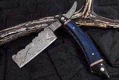 Damascus Sword, Damascus Blade, Handmade Chef Knife, Handmade Knives, Damascus Steel Chef Knife, Barber Razor, Shaving Razor, Straight Razor, Groomsman Gifts