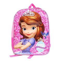 Disney Sofia the First 15' Toddler School Backpack Pink ** Visit the image link more details.