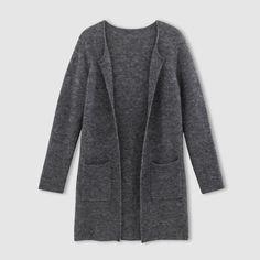 afbeelding Lang vest in getwijnd tricot atelier R