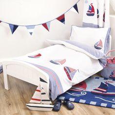 Nautical Applique Bedding Collection