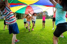 15 Interesting Parachute Games For Kids