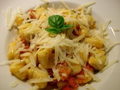 italian food - gnocchi yummo drool